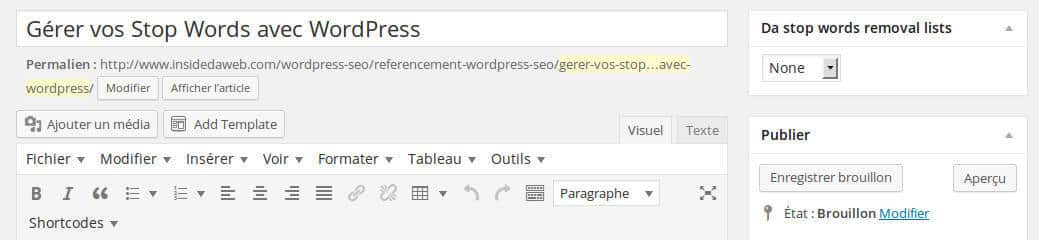 14 gerer-stop-words-wordpress