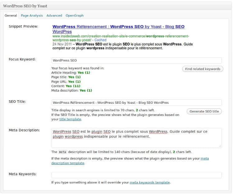 Interface de gestion manuel présent sous chaque billet / page.