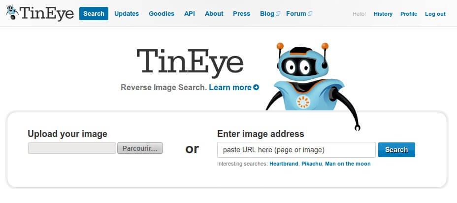Tineye Recherche Inversee D Image Wcommerce